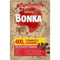 Café molido descafeinado BONKA, paquete 400 g
