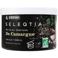 Flor de sal de ajo-perejil Eroski SELEQTIA, caja 125 g