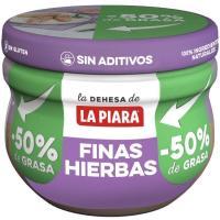 Paté a las finas hierbas provenzales LA PIARA, tarro 100 g