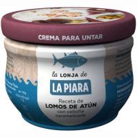 Crema de atún con cebolla caramelizada LA PIARA, tarro 100 g