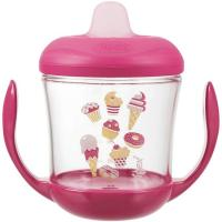 Taza involcable antifugas cupcakes TIGEX, 160ml