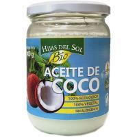 Aceite de coco ecológico HIJAS DEL SOL, frasco 400 g