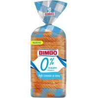 Pan de molde 0% azúcar añadidos BIMBO, 450 g