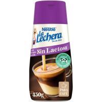 Leche condensada desna. s/ lactosa LA LECHERA, dosificador 450 g