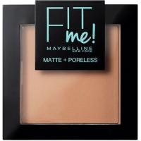 Polvos Mate Fit Me 250 Sun Beige MAYBELLINE, pack 1 ud.