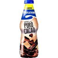 Batido puro cacao PULEVA, botella 1 litro