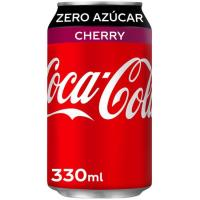 Refresco Cherry Coke Zero COCA COLA, lata 33 cl
