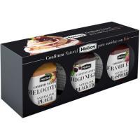 Confitura natural para maridar foie HELIOS, pack 3x45 g