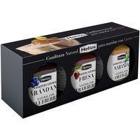 Confitura natural para maridar carne HELIOS, pack 3x45 g