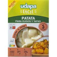 Patata para guisos y tapas UDAPA FÁCIL, bandeja 450 g
