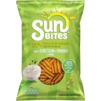 Snack sour cream toque de pimienta SUNBITES, bolsa 95 g