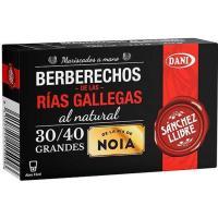 Berberecho al natural de Noia 30/40 SANCHEZ LLIBRE, lata 63 g