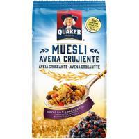 Granola de avena crujiente-arándanos-goji QUAKER, bolsa 350 g