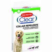 Collar repelente para perro mediano-grande CLEAR, pack 1 unid.