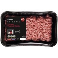 Carne picada de ternera EUSKO LABEL SELEQTIA, bandeja 500 g