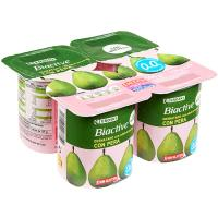 Yogur Biactive con pera 0% materia grasa – 0% azúcares añadidos