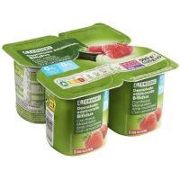 Yogur Biactive con fresa 0% materia grasa – 0% azúcares añadidos