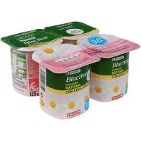 Yogur Biactive natural edulcorado 0% materia grasa – 0% azúcares añadidos