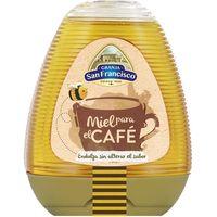 Miel especial café GRANJA SAN FRANCISCO, dosificador 350 g