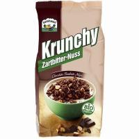Crunchy de chocolate negro sin palma BARNHOUSE, paquete 375 g
