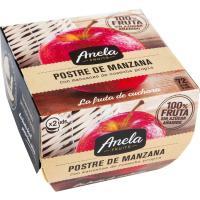 Postre de manzana ANELA, pack 2x100 g