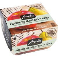 Postre de manzana-pera ANELA, pack 2x100 g
