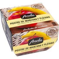Postre de manzana-plátano ANELA, pack 2x100 g