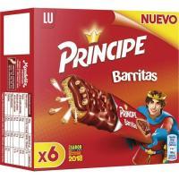 Barrita de chocolate Príncipe LU, 6 unid., caja 162 g