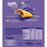 Barrita de choco MILKA, 6 uds., caja 162 g