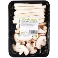 Shiitake y cardo, bandeja 100 g