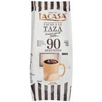 Cacao a la taza 90 Segundos LACASA, bolsa 350 g