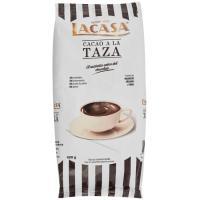 Cacao a la taza sabor tradicional LACASA, bolsa 400 g