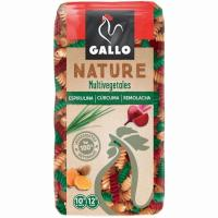 Hélices multivegetales GALLO NATURE, paquete 400 g