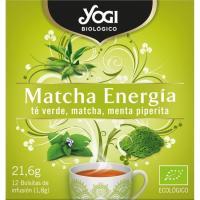 Té matcha energía YOGI, caja 20 g
