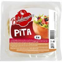 Pan de pita griego PANORIENT, 4 unid., paquete 320 g