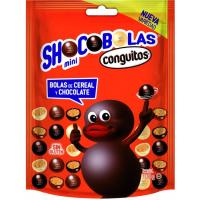 Mini shocobolas de cereal-chocolate CONGUITOS, doypack 100  g