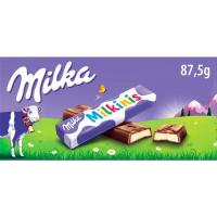 Chocolate Milkinis T8 MILKA, tableta 87,5 g