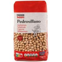 Garbanzo pedrosillano EROSKI basic, paquete 1 kg
