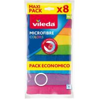Bayeta colors VILEDA, pack 8 uds.