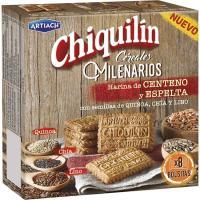 Galleta Chiquilin Cereales Milenarios ARTIACH, caja 260 g