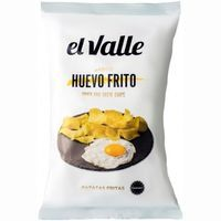 Patatas fritas huevo frito EL VALLE, bolsa 130 g