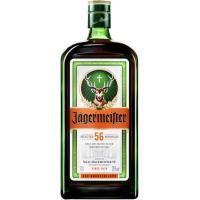 Licor de hierbas JAGERMEISTER, botella 1 litro