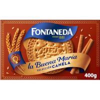 Galleta La Buena María con canela FONTANEDA, caja 400 g