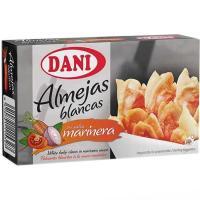 Almeja en salsa marinera DANI, lata 111 g