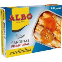 Sardinilla en salsa picantona ALBO, lata 105 g