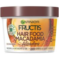Mascarilla cabello normal macadamaia FRUCTIS, tarro 390 ml