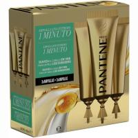 Ampollas suave&liso PANTENE, pack 3 unid.