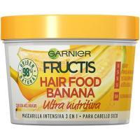 Mascarilla cabello seco banana FRUCTIS, tarro 390 ml