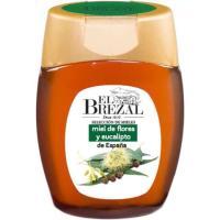 Miel de flores-eucalipto EL BREZAL, frasco 350 g