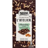 Chocolate Atélier negro-almendras tostadas NESTLÉ, tableta 115 g